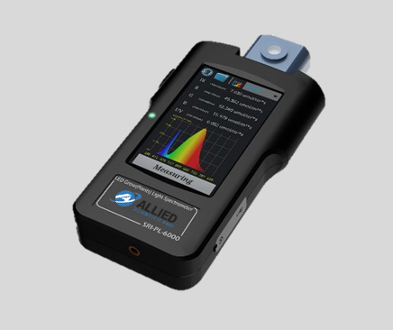 Spectral Light Meter SRI2000 UV Illuminance Spectrometer