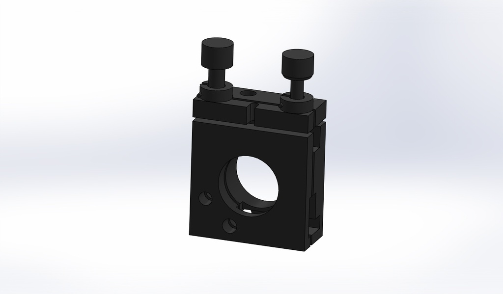 ASP-WN071KM(12.7-38.1mm) Precision 80 and 100 TPI Versions Kinematic Mounts