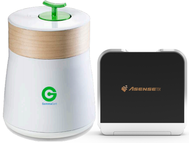 Gemmacert Cannabis Analyser + Lighting Passport Standard Pro Bundle